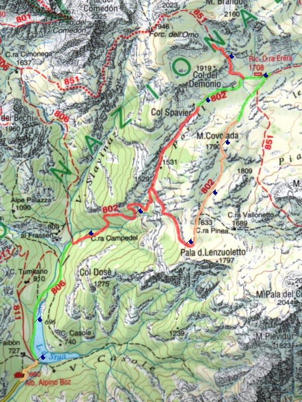 Vacilotto luca for Piani cottage piccolo lago